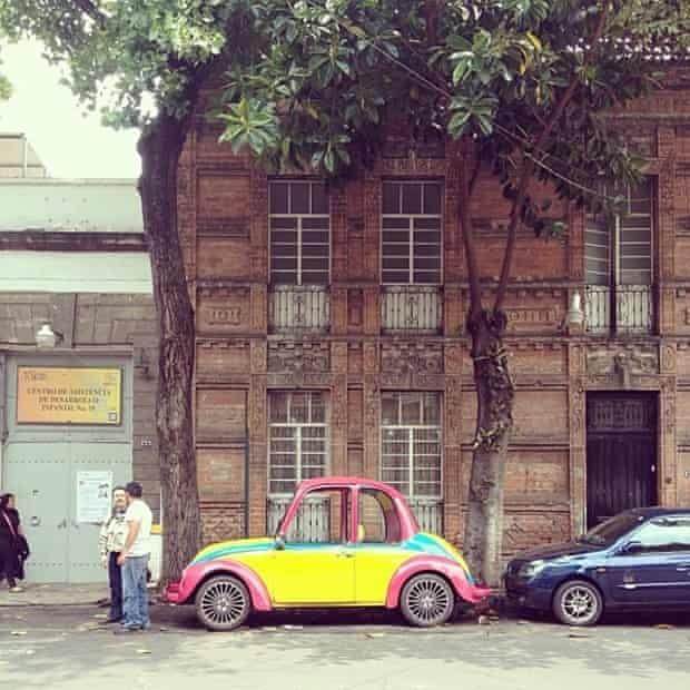 Instagram: Mexico City street