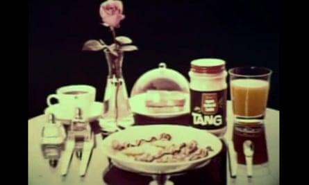 Tang as part of breakfast