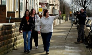 'White Dee' of Benefits Street, who was one of the few who remained calm in Channel 5's 'row'