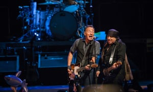 Bruce Springsteen kicks off his Australian tour at the Perth Arena.