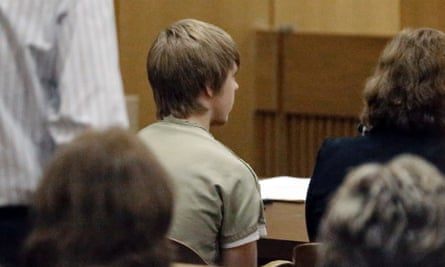 Ethan Couch in court in Fort Worth, Texas, where Judge Jean Boyd again decided against sending him to jail.