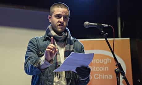 Cody Wilson speaks at the BitCoin Expo 2013