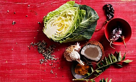 10 best cabbage recipes: Keralan cabbage thoran with coconut and chilli.