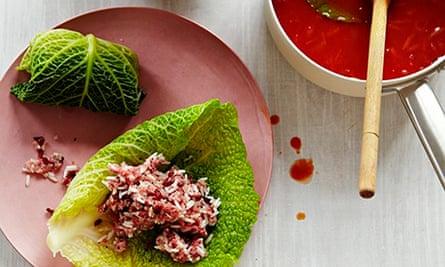 10 best cabbage recipes: Golubsti (Ukrainian stuffed cabbage)