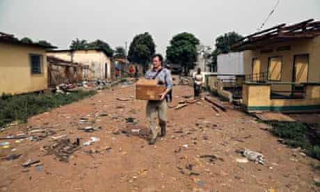 Marcus Bleasdale rescues archives of Samuel Fosso