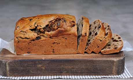 Ruby Tandoh's baking with tea this week. This is a tea loaf.