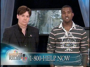 10 best: Kanye West and Mike Myers A Concert For Hurricane Relief