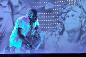 10 best: Kanye West performing at The Big Chill 2011