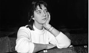 The playwright Shelagh Delaney in 1961 … 'recording the wonder of life as she lives it'.