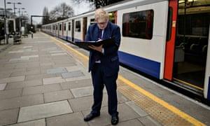 Boris Johnson at Southfields