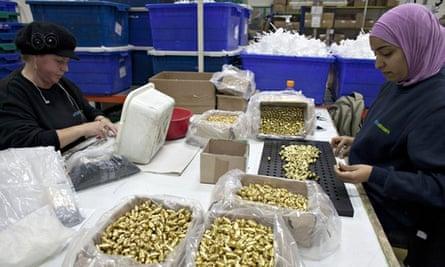 Soda Stream factory in Mishor Adumim, West Bank, Israel - 02 Feb 2014