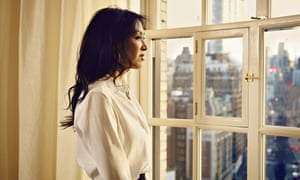 Amy Chua in her New York City apartment