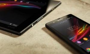 Sony Xperia Z and Tablet Z