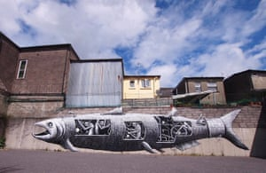 Phlegm murals: Bantry, County Cork, Ireland