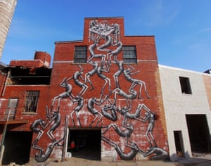Phlegm murals: Phlegm mural, Lexington, Kentucky, US