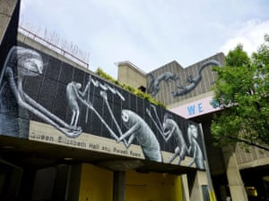 Phlegm murals: Phlegm mural, Southbank centre, London