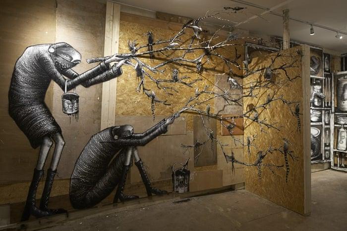 Street artist Phlegm's murals from around the world | Travel