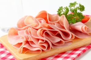 """Ham with no pork in it Several hams contained no pork, only poultry meat or """"meat emulsions"""" from a species other than pork; one ham contained mechanically separated pork not permitted in ham."""