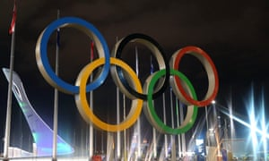 The Olympic Rings in Sochi's Olympic Park