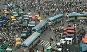Traffic Jam at Central Kolkata
