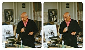 Picasso in his studio by Robert Mouzillat