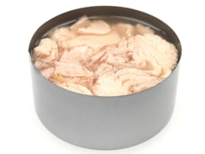 Tuna flakes in brine A tin of tuna flakes was 21% short on its declared protein content.