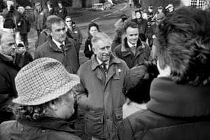 Somerset floods: Prince Charles