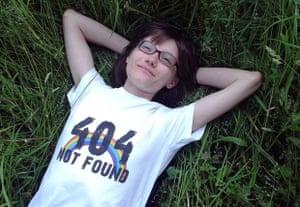 Lena Klimova, gay activist