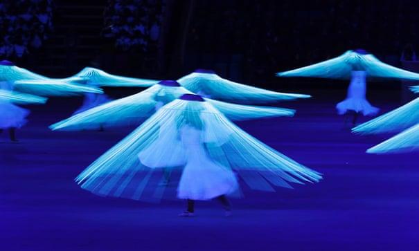 Sochi 2014: Winter Olympics opening ceremony – as it