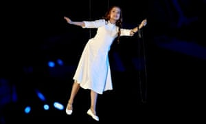 'Hero girl' at Sochi Winter Games opening ceremony