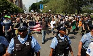Nato summit protesters