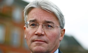 MP Andrew Mitchell speaks to the media outside the Town Hall in Sutton Coldfield