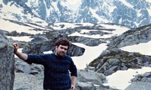 A changed man: Jonathan Conville lived for the challenge of mountaineering.
