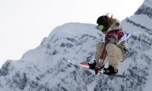 Jamie Anderson action