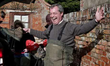 Nigel Farage in Somerset