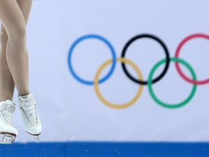 Kaetlyn Osmond of Canada competes in the Team Ladies Free Skating at the Sochi 2014 Winter Olympics.