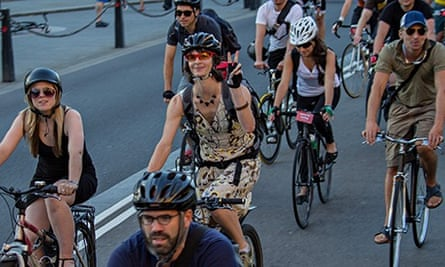 Space for Cycling protest ride in central London