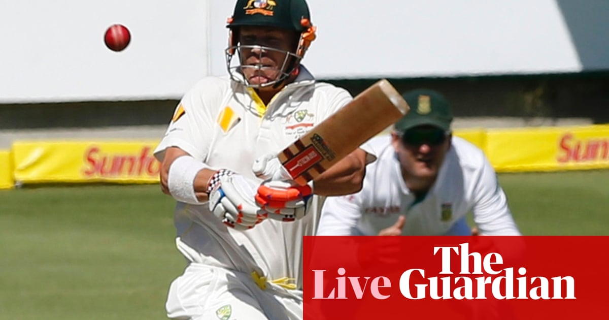 South Africa v Australia: day one – as it happened | Sport | The