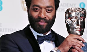 Chiwetel Ejiofor, the star of 12 Years A Slave, won the best actor prize at the Baftas