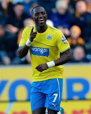 Roundup gallery: Newcastle United's Sissoko celebrates