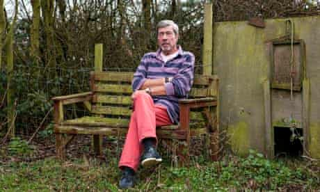 Bernard Randall at his home in Kent