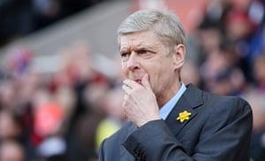 saturday roundup: Arsene Wenger