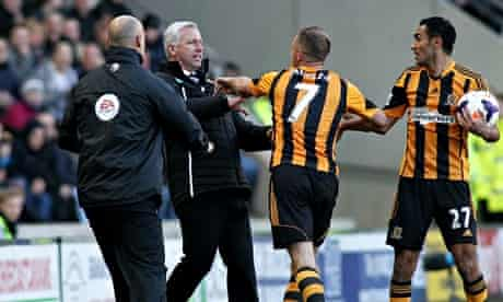 Hull City v Newcastle United - Barclays Premier League