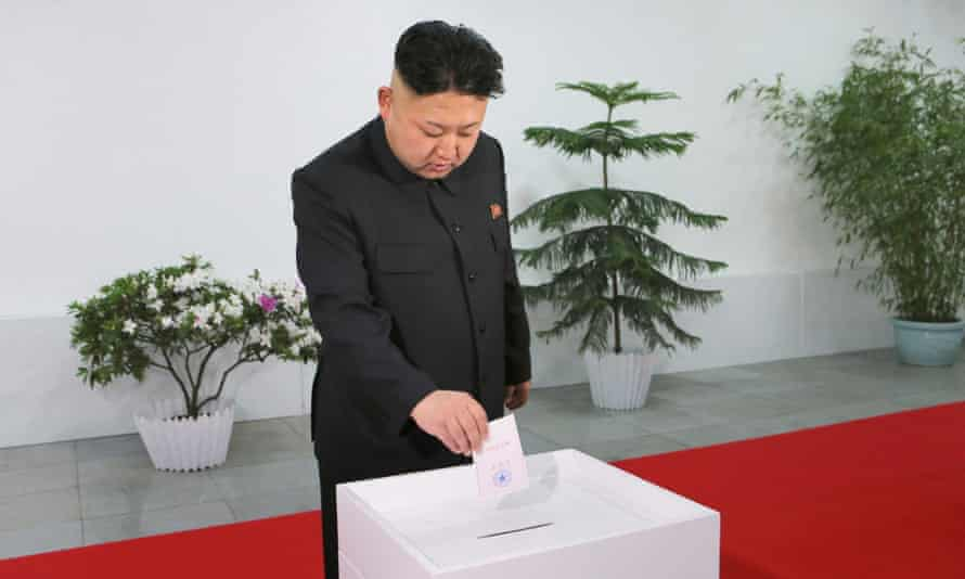 Kim jong-un voting
