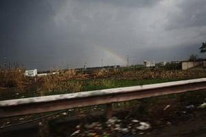 Qabaait, Northern Lebanon: A rainbow in Lebanon