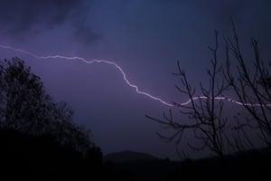Qabaait, Northern Lebanon: Lightning in Qabaait