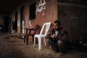 Qabaait, Northern Lebanon: A Syrian Man in Qabaait