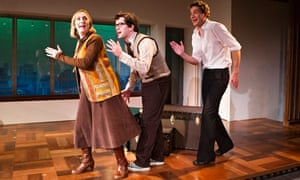 Jenna Russell, Damian Humbley and Mark Umbers in Merrily We Roll Along