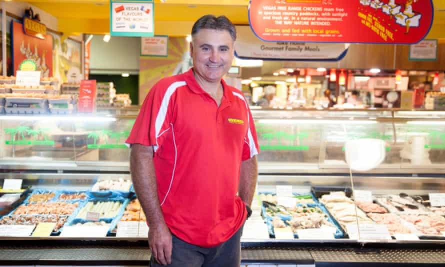 Frank Turtur of Vegas Poultry at Adelaide Market