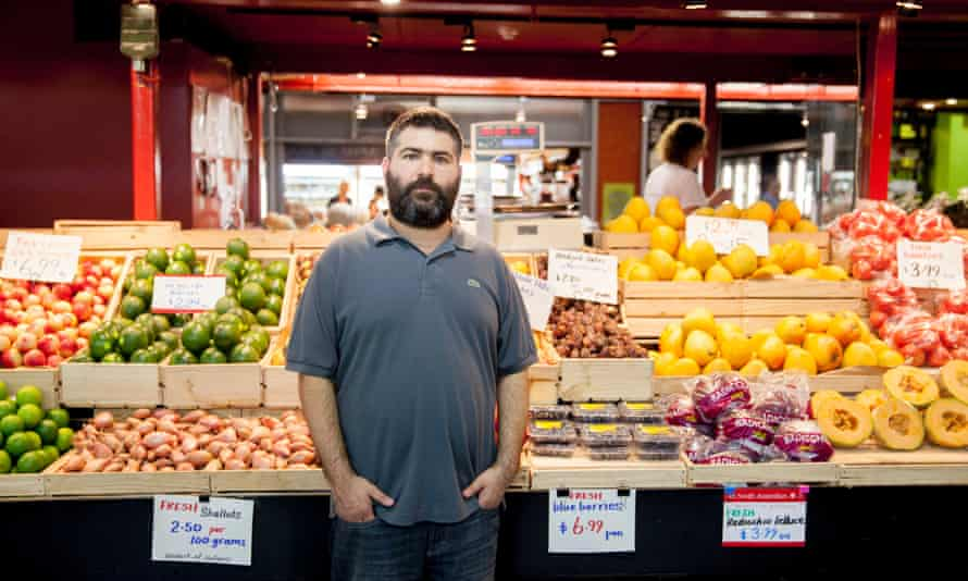 Lee Bugeja, who runs Stall 69 in Adelaide Central Market.